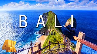 FLY NG OVER BAL  4K UHD - Relaxing Music \u0026 Amazing Beautiful Nature Scenery For Stress Relief