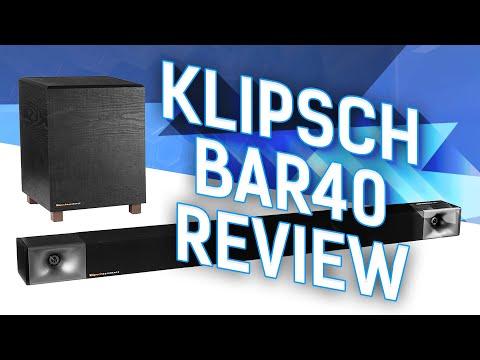 Reviewing The Newest Klipsch Soundbar - BAR40