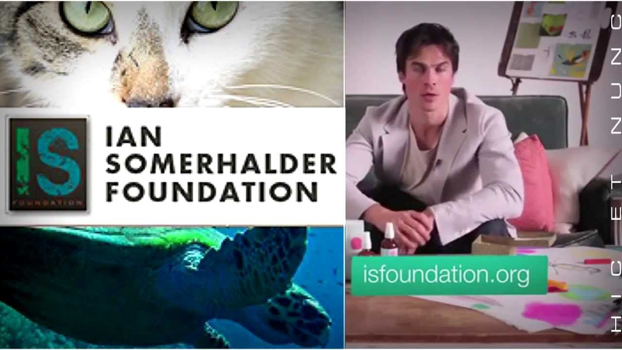 Ian Somerhalder Long Version | ISF | Ian Teaches ...