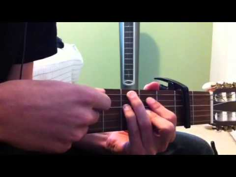How to play cough syrup guitar