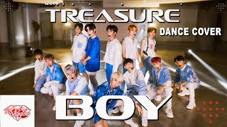 Download [ KPOP NOT IN PUBLIC BUT 99% LIKE TREASURE 's STAGE?] TREASURE (트레저)-'BOY' DANCE COVER by THE SHADOW