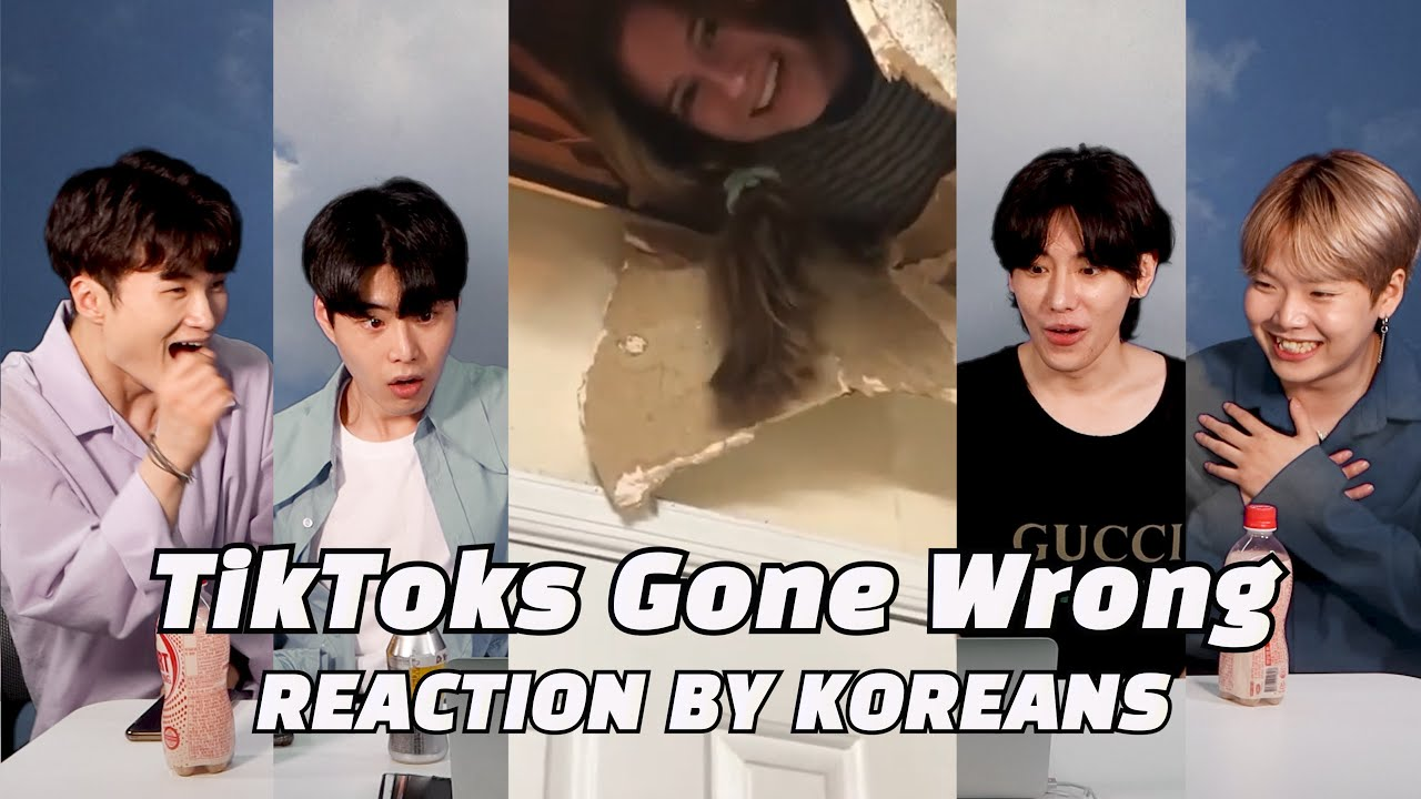 TikToks Gone Wrong Reaction by Korenans for the first time