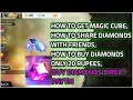 How to get Magic cube in free fire || How to share diamonds with friends