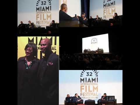 Cheryl Boone Isaacs Miami Film Festival master class
