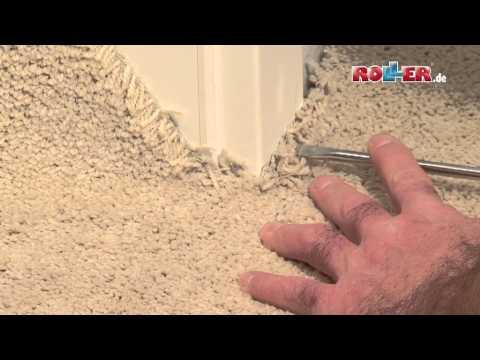 Renovieren und Einrichten - Schlafzimmer Teil 02 - Teppichboden verlegen