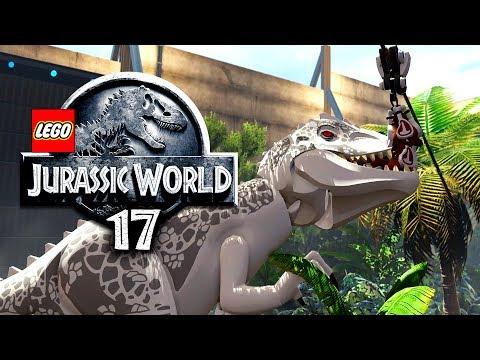 LEGO JURASSIC WORLD - FÜTTERUNG mit HINDERNISSEN