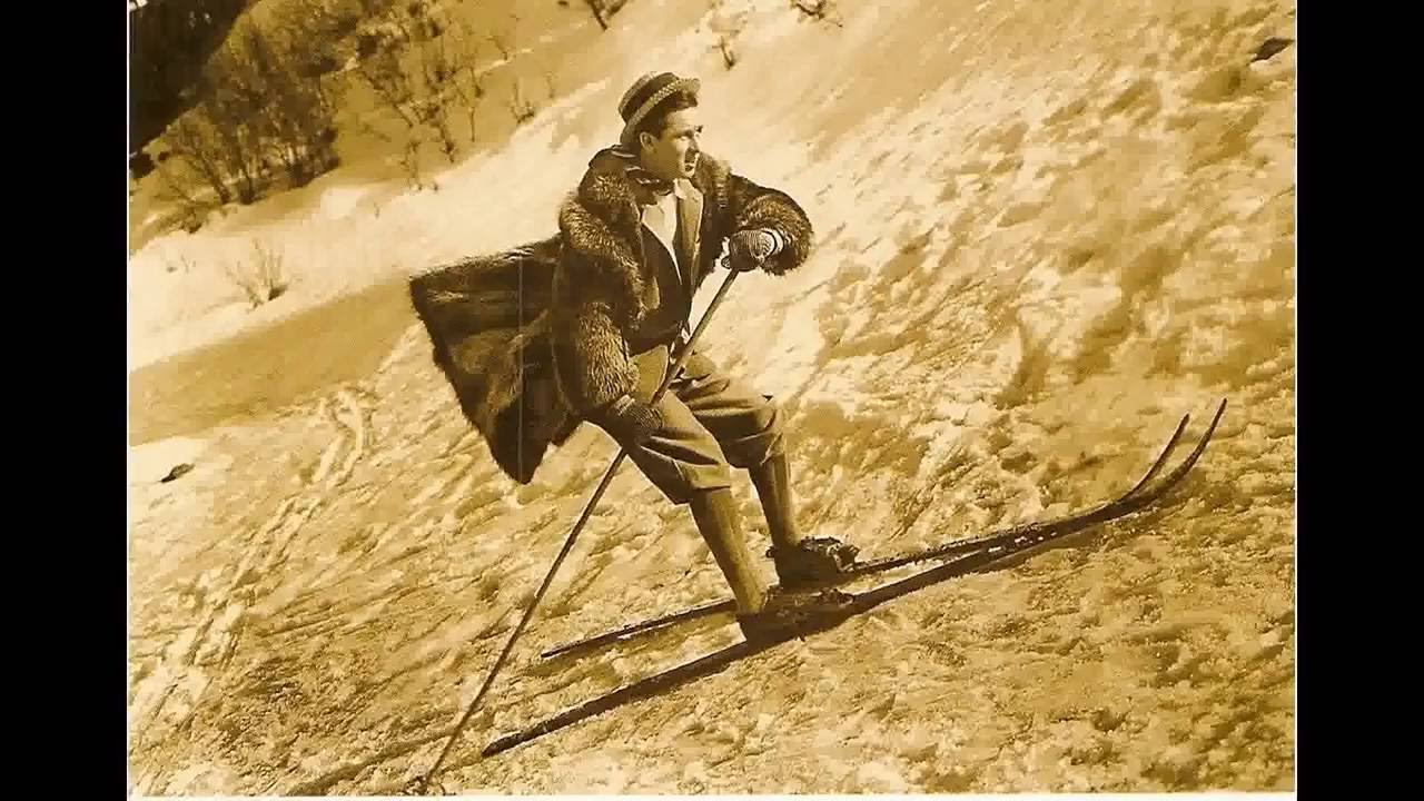 Vintage ski world old ski photos zermatt