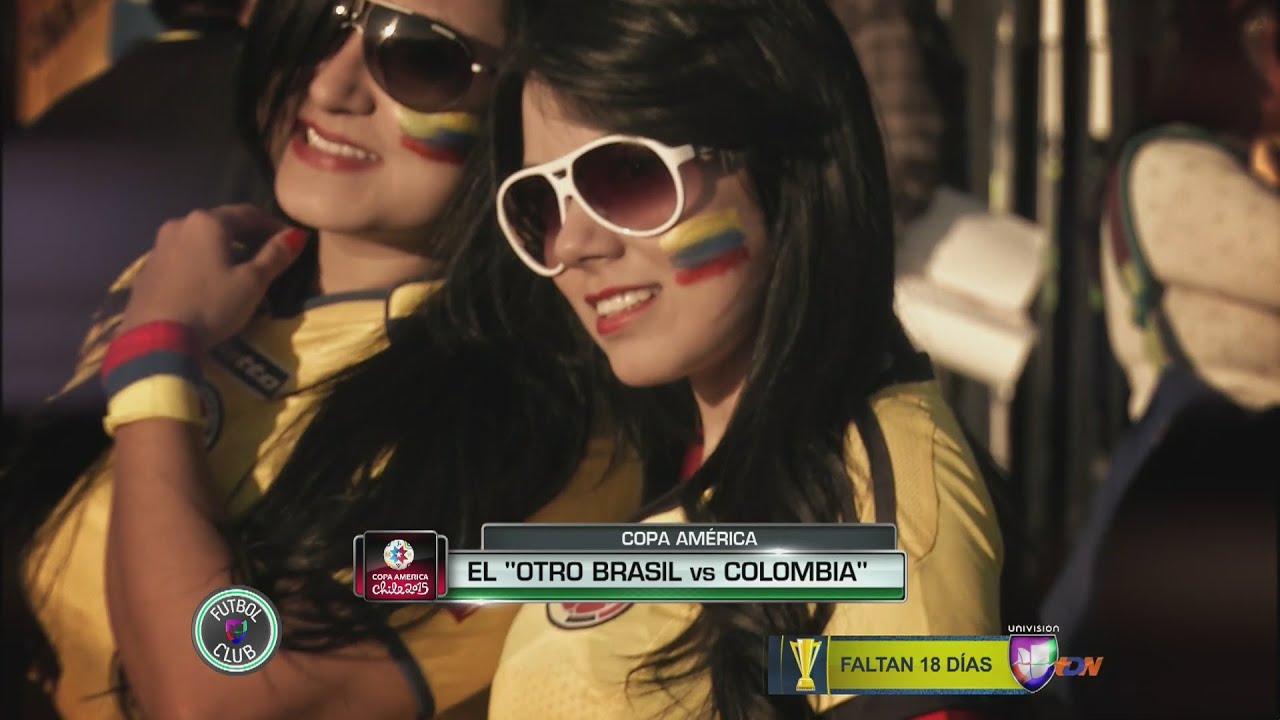 Brasil Vs Colombia Entre Las Chicas En La Copa America Chile