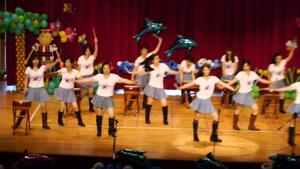 20140531-牧愛堂幼稚園音樂發表會之老師表演 - YouTube