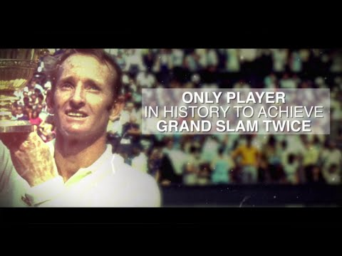 50 For 50: Rod Laver, 1969 US Open Tennis Men's Singles Champion