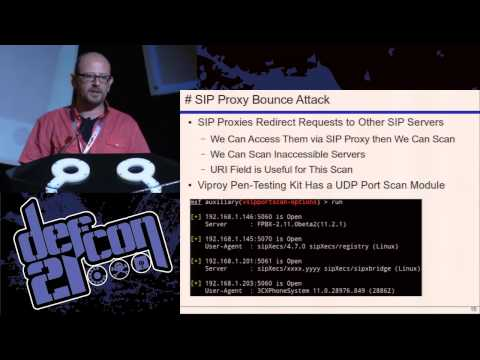 DEF CON 21 Hacking Conference Presentation By Fatih Ozavci   VoIP Wars Return of the SIP   Video and