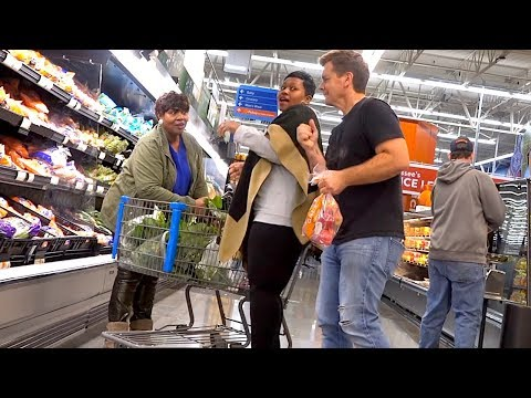 Man Farts on People in Walmart  and THEY JUMP! - Farting at Walmart with The Pooter