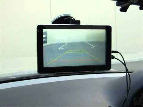 how to install 7 inch gps reverse camera receiver day night demo rh youtube com