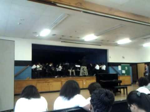 Asbury Park Middle School Band.... Louie Louie