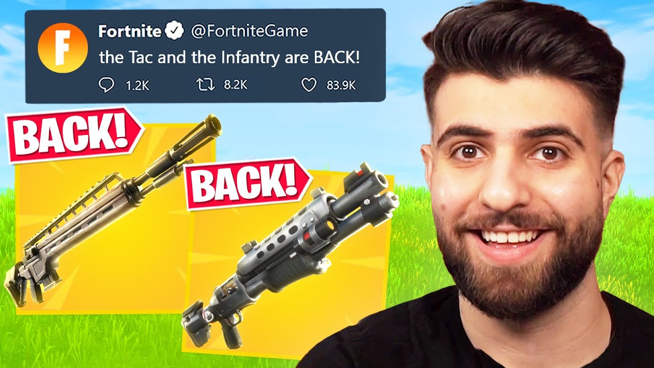 The TAC is BACK! (Secret Fortnite Update!)
