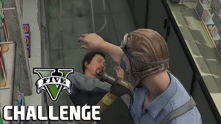 Can I Rob a Store Using Just a Hammer? - GTA V Challenge