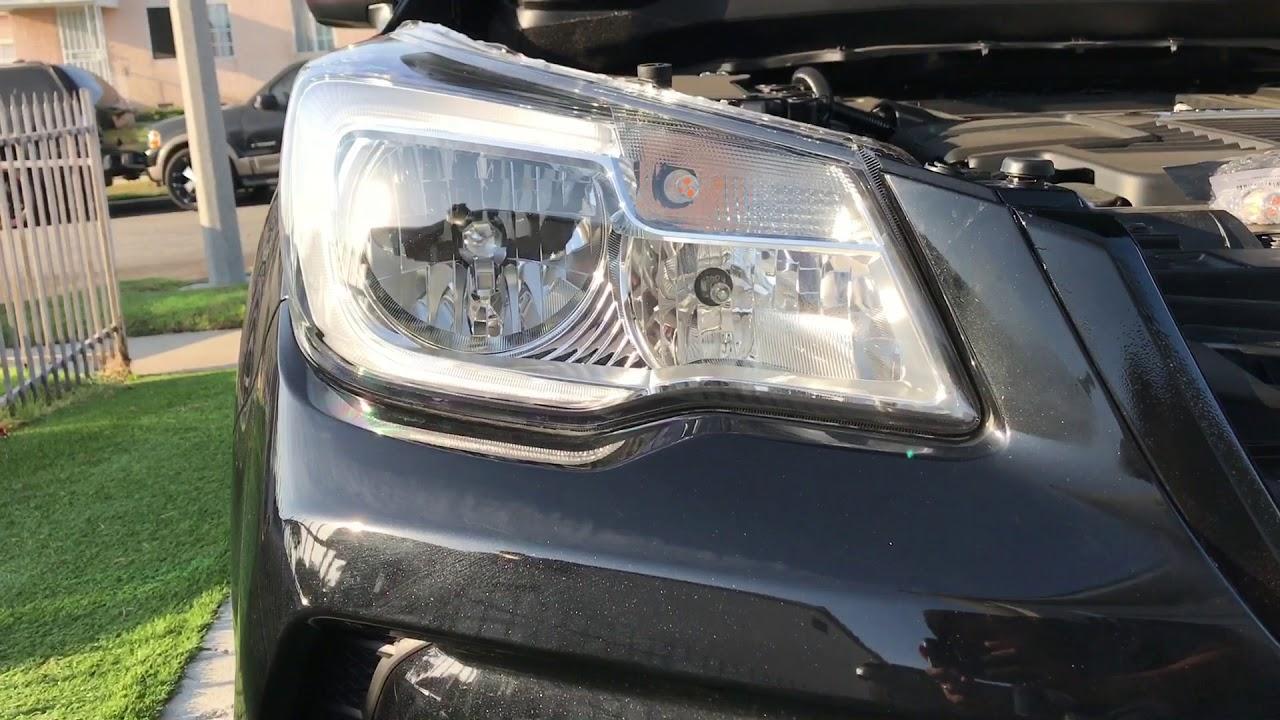 Subaru Forester Xt 2018 Autodip Led Bulb Vinyl Wrap