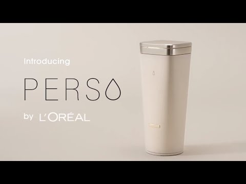 Introducing Perso, a 3-in-1 at-home personalized beauty device by L'Oréal