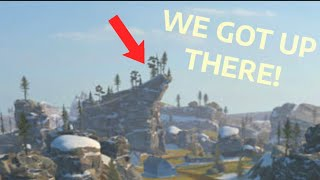 Getting To The Top In Yukon! (That View!) | WOT BLITZ