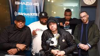 Eminem speaks on the BET Freestyle