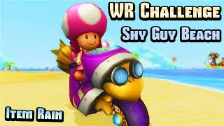Download Mario Kart Wii - Shy Guy Beach WR Challenge (Item Rain) Mp3 and Videos
