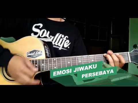 Persebaya 1927 - Emosi Jiwaku II Cover Acoustic By Setya Aji