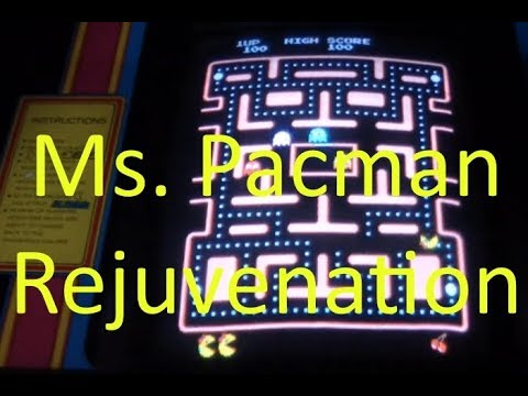 AE#44 Repairing An Arcade Ms. Pacman Video Game