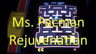 AE#44 Repairing An Arcade Ms. Pacman Video Game