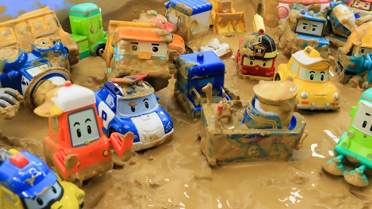 엠버와 함께 재미있게 놀아보아요  진흙에서 구르고 미끄럼도타면 기분이 좋아질거예요