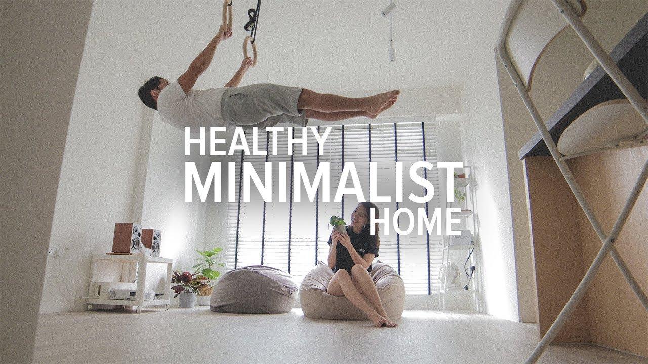 The Healthy Minimalist Home Tour (65 sqm / 700 sqf) | Singapore 3-Room HDB