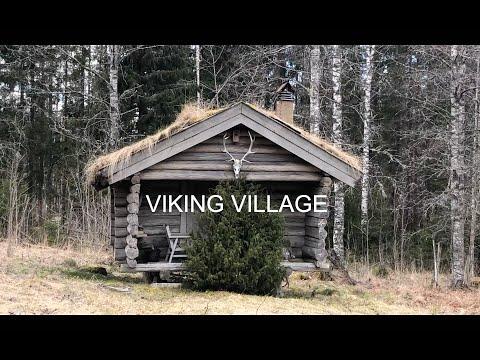 ДЕРЕВНЯ ВИКИНГОВ / VIKING VILLAGE 🏕