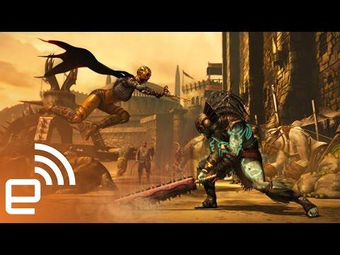 Playing 'Mortal Kombat X' | Engadget