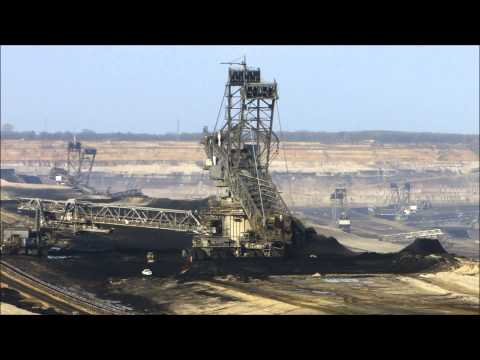 Energy production: The Open-Cast Mining Garzweiler II in Germany