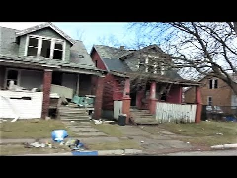 DETROIT'S MOST ABANDONED EASTSIDE HOOD