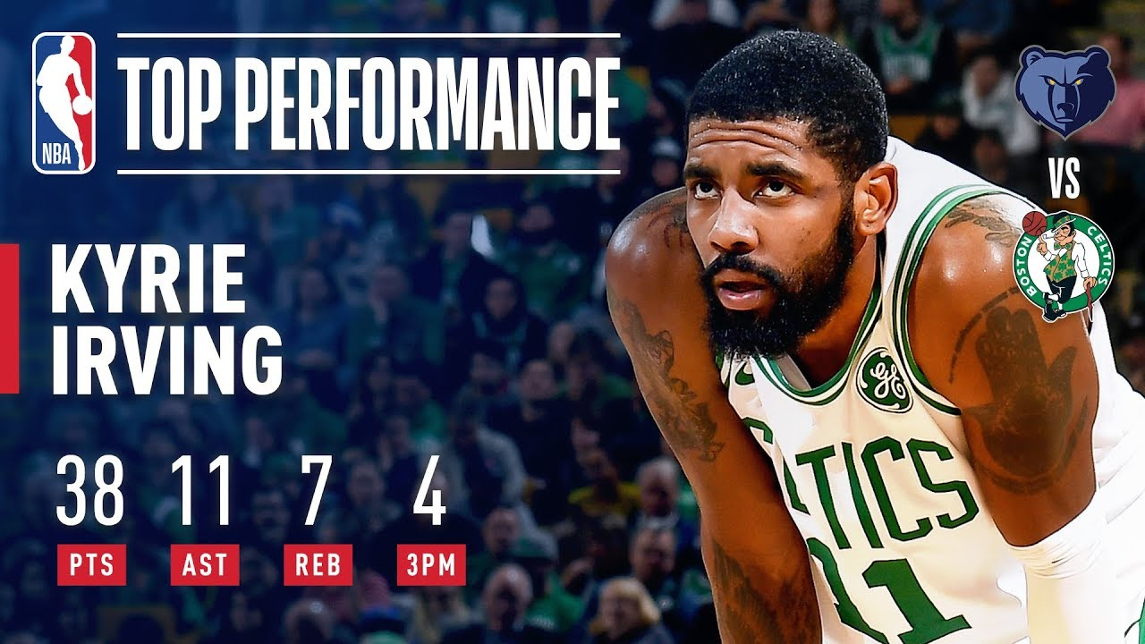 6bf1268b4779 Kyrie Irving SHINES Against Grizzlies