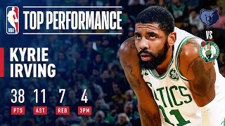 Kyrie Irving SHINES Against Grizzlies   January 18, 2019