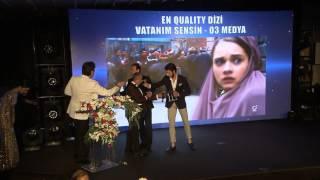 8. Quality Ödülleri - En Quality Dizi: Vatanım Sensin - O3 Medya