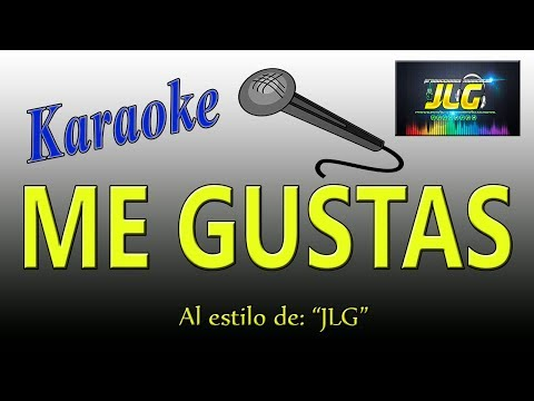 ME GUSTAS -Karaoke Versión cumbia- JLG