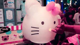 Hello Kitty Cotton Candy Art ハローキティ