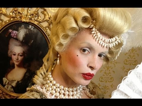 marie antoinette make up baroque make up hairstyle and costume youtube. Black Bedroom Furniture Sets. Home Design Ideas