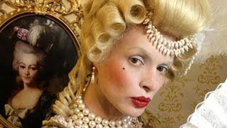Marie Antoinette Make-Up - Baroque Make-Up Hairstyle and Costume