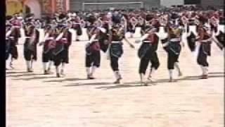 広島大学附属高校マスゲーム1999年赤軍(1部)
