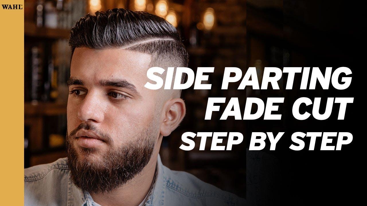 Side Parting Fade Cut - Step by Step Anleitung deutsch