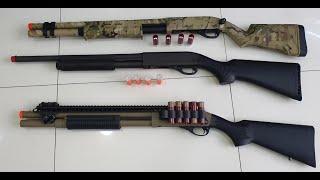 AS 12 MAIS REAIS DO AIRSOFT SHOTGUNS QUE FUNCIONAM IGUAIS A REAL