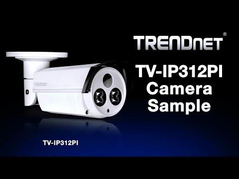 TRENDnet TV-IP312PI Camera Sample