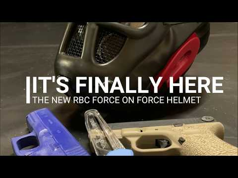RBC Force On Force Helmets Now Ready