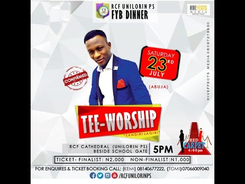Tee Worship talking about RCF Dinner 2016.