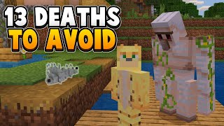 13 Common Minecraft Deaths And How To Avoid Them