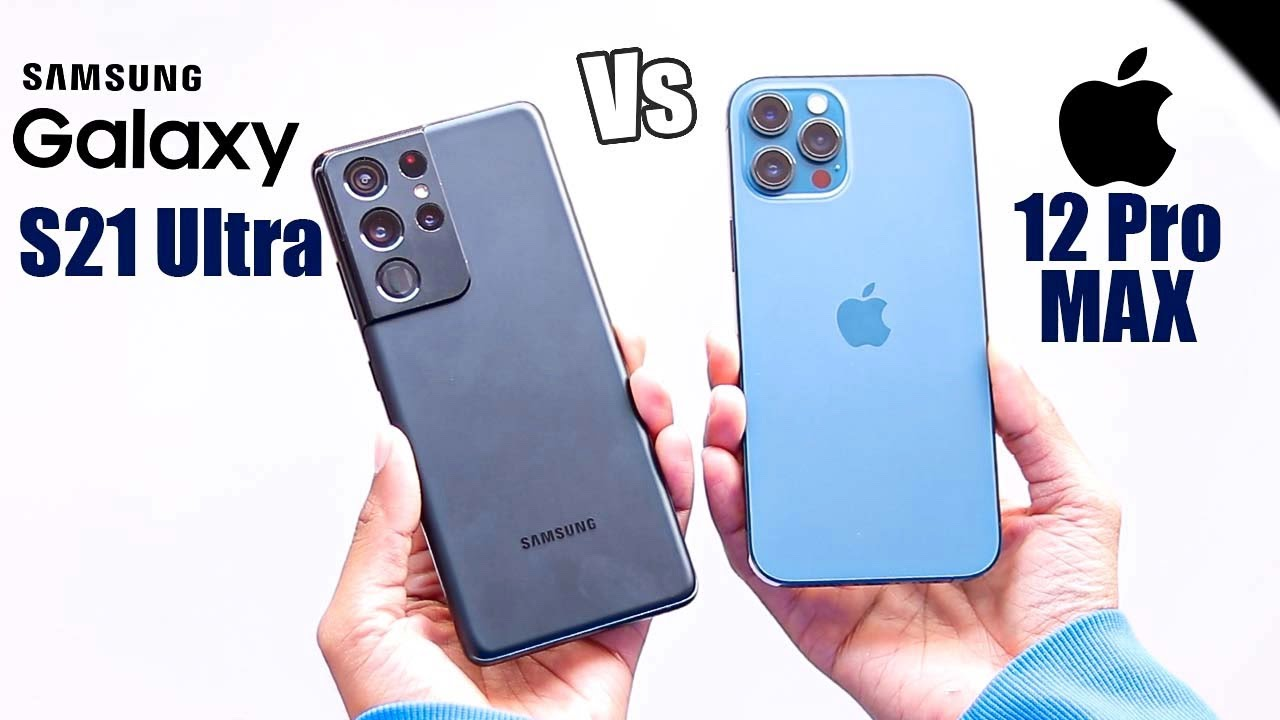 Samsung S21 Ultra Vs iPhone 12 pro max - Best pick in 1 Lakh ?