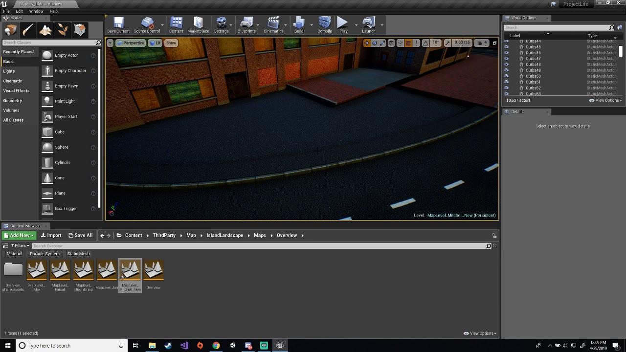 Project Life RPG Development | Level Design | #22